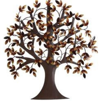 "Tree Of Life Metal Wall Art Decor Sculpture 31""""x29"""""