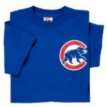 Majestic Athletic Majestic Youth Mlb Chicago Cubs Logo T-Shirt X-Large