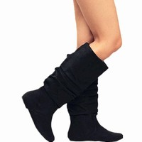 Fashion Slouchy Knee-high Flat Boots