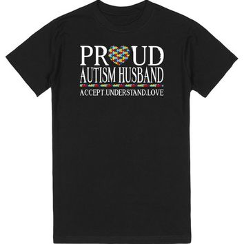 Proud Autism Husband Autism Awareness