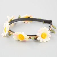 Full Tilt Daisy Headband Yellow One Size For Women 25357460001
