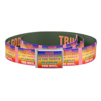 True Strength Is The Power Of God In The Soul. Belt