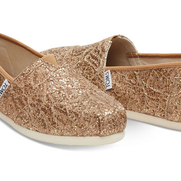 ROSE GOLD LACE GLITZ WOMEN'S CLASSICS