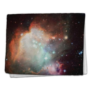 "Space All Over 11""x18"" Dish Fingertip Towel All Over Print by TooLoud"
