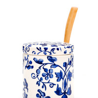 Chinoiserie Sugar Pot