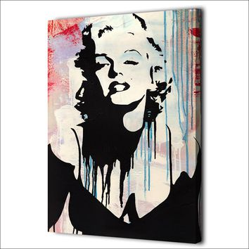 1 Piece Canvas Art Marilyn Monroe Abstract print pop art Wall Picture