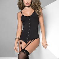 Sassy Snap Button Front Bodysuit