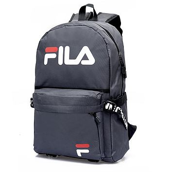 Fila  Fashion Casual Simple School Backpack Travel Bag