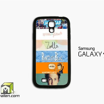Quotes The Youtubers 2 Samsung Galaxy S4 Case Cover by Avallen