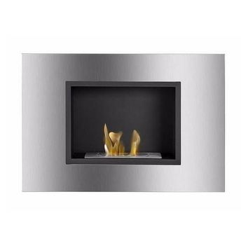 "Ignis Quadra - 31"" Built-in/Wall Mounted Ethanol Fireplace (WMF-001)"