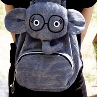 Cute Cartoon Elephant Backpack Bag on Luulla