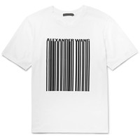 Alexander Wang - Printed Cotton-Jersey T-Shirt
