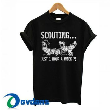 Scouting Just 1 Hour A Week T Shirt Women And Men Size S To 3XL