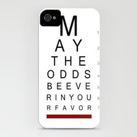 May The Odds Be Ever In Your Favor (Positive) iPhone Case by Ryan James Caruthers | Society6