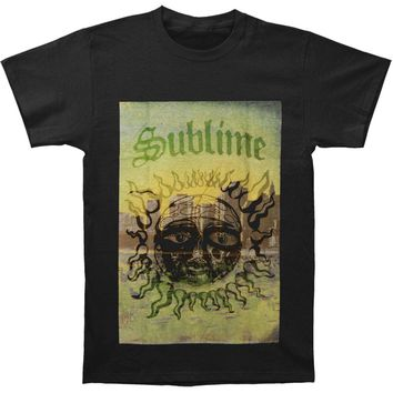 Sublime Men's  Cityscape Sun Slim Fit T-shirt Black Rockabilia