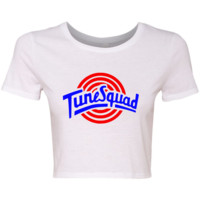 TurnTo Designs - Crop Top (Full) TUNE SQUAD Lola Vinyl XS/S with Name/Number