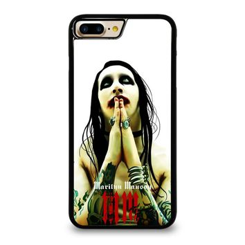 MARILYN MANSON GOTH iPhone 7 Plus Case