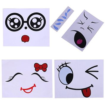 Belly Stickers Cute Photography Props Woman Pregnant Smiling Face Belly Stickers Mum Maternity Accessories