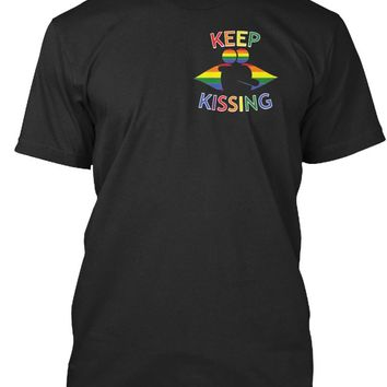 Keep Kissing - LGBT - Gay Pride Support