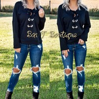Laced Perfection Pullover