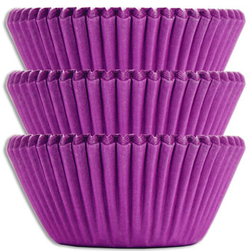 Electric Purple Baking Cups