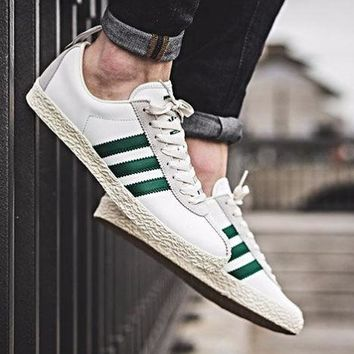 Adidas Trainer Spezial Size 7-12 White Green Mens Sneaker eqt hu nmd stan smith