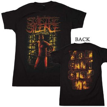 Suicide Silence Can't Stop Me T-Shirt - Black - Medium