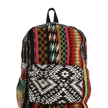 Fuchsia Take Me Away Boho Backpack