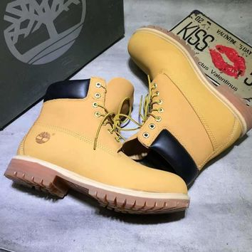 Timberland classic Color Yellow Men Women Sneakers Boots