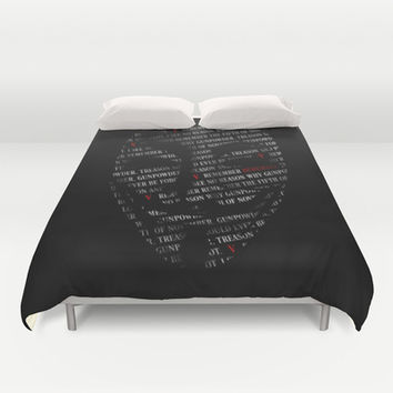 Remember Duvet Cover by HappyMelvin