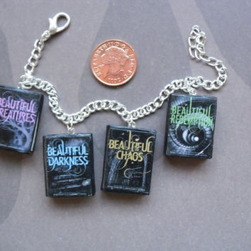 Beautiful Creatures series book charm bracelet by CharmaLlama