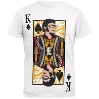 Elvis Presley - King Of Spades Soft T-Shirt