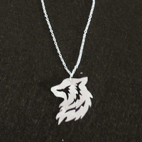Tribal Wolf Necklace