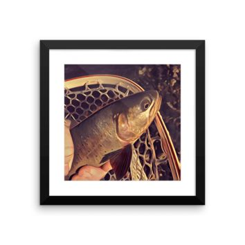 Cutthroat Wall Art - All Proceeds go to Trout Unlimited