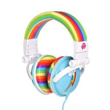 My Little Pony Rainbow Dash Over the Ear Headphones