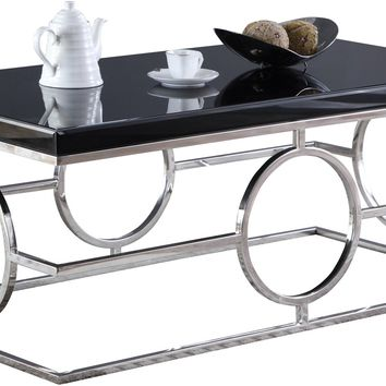 Brooke Chrome Coffee table