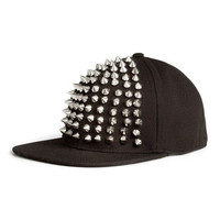 Cap with Studs - from H&M