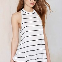 Get Lined Up Stripe Tank
