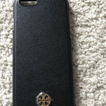 Tory Burch iPhone 6 hard shell case NEW black, 100% Authentic