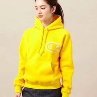 PEAPUP0 Champion Women Fashion Hoodie Top Sweater Pullover2