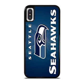 SEATTLE SEAHAWKS iPhone X Case Cover