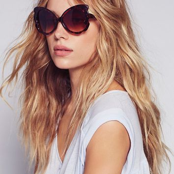 Free People Butterfly Kisses Sunglasses