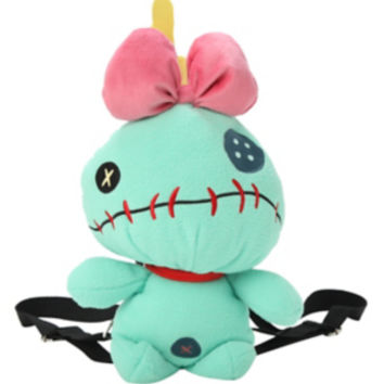 Disney Lilo & Stitch Scrump Plush Backpack