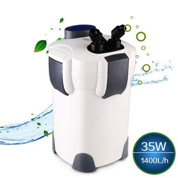 35W 1400L/h SUNSUN HW-303 3-Stage Aquarium External Canister Filter for Fish Tank Outside Filter 370 GPH Up to 100 Gallon