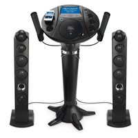 "Singing Machine Pedestal CD+G Karaoke Player with iPod dock and 7"" LCD Color Monitor - Reconditioned"