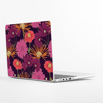 Lavender Flowers Laptop Skin