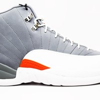 Air Jordan 12 Retro Cool Grey Basketball Shoes <>