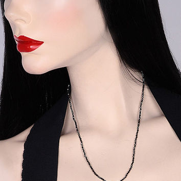ITAY MALKIN City Girl Black Diamond Necklace