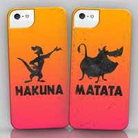 Hakuna And Matata Iphone Cases