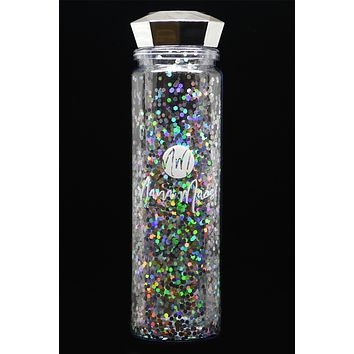 Nana Macs Water Bottle (Silver)